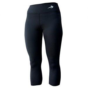 Compression-Capri-Pants-For-Women-Black-M-34-Length-Yoga-Running-Workout-Exercise-Leggings-0