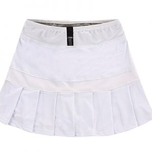LANBAOSI-Womens-Boufancy-Short-Dress-High-Waist-Pleated-Tennis-Skirts-XLUS-M-White-0