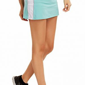 La-Isla-Womens-Athletic-Performance-Skort-With-Built-In-Shorts-Sport-Skirt-Light-Blue-S-0