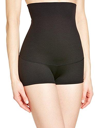 Maidenform Flexees Women's Shapewear Minimizing Hi-Waist Boyshort , Black, Large