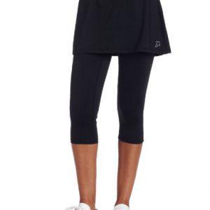 Skirt-Sports-Womens-Lotta-Breeze-Capri-Skirt-Skirt-with-Moisture-Wicking-Capri-Leggings-Black-XXL-0
