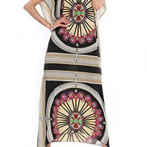 TWC-Summer-Vintage-Print-Maxi-Long-Dress-One-Size-0