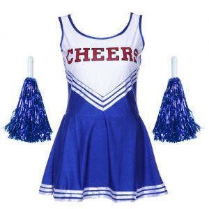VARSITY COLLEGE SPORTS CHEERLEADER UNIFORM