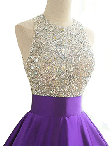 27200912750a HEIMO Women's Sequins Keyhole Back Evening Ball Gown Beaded Prom Formal  Dresses Long H095