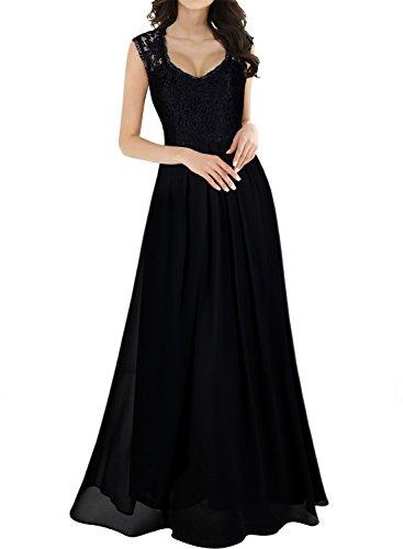 miusol women 39 s casual deep v neck sleeveless vintage. Black Bedroom Furniture Sets. Home Design Ideas