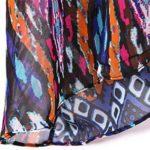 Yonala Summer Womens Beach Wear Cover up Swimwear Beachwear Bikini, Purple,One size